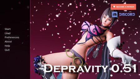 Depravity 0.59 Game Walkthrough Free Download for PC