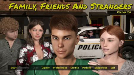 Family, Friends and Strangers Game Walkthrough Free Download for PC