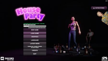 House Party 0.19.0 Game Walkthrough Free Downl