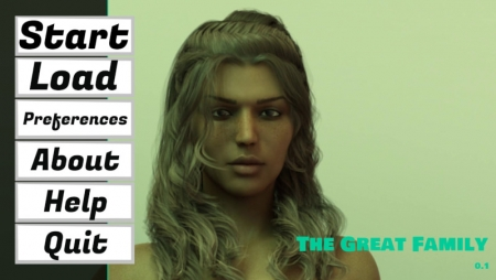 The Great Family 0.1 Game Walkthrough Free Download for PC
