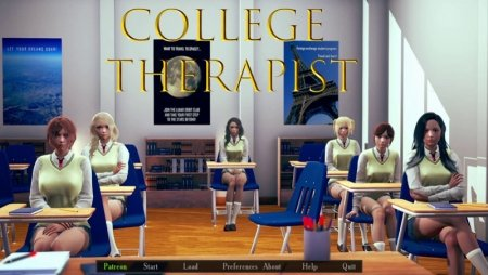 College Therapist 0.1.1p Game Walkthrough Free Download for PC